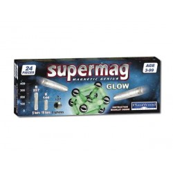 Магнитный конструктор  Glow 24 Supermag 0040