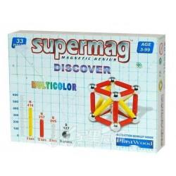 Магнитный конструктор Discover 33 Supermag 64