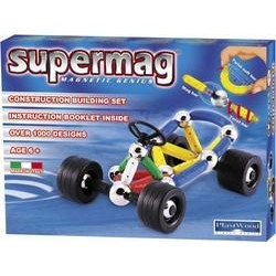 Магнитный конструктор Go kart Supermag 163