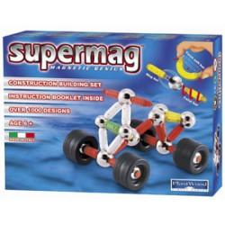 Магнитный конструктор  Квадроцикл Supermag 0162
