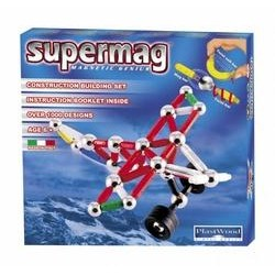 Магнитный конструктор самолет Piper Supermag 165