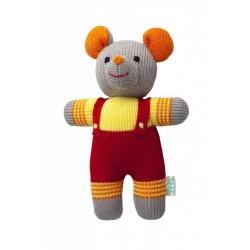 Вязаная игрушка Мышонок Кузя Фрея
