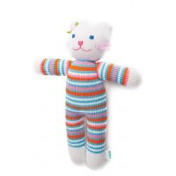Вязаная игрушка Кошка Люся Фрея