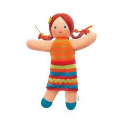 Вязаная игрушка Кукла Мандаринка Фрея