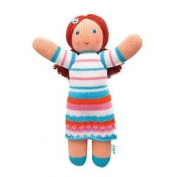Вязаная игрушка Кукла Маша Фрея