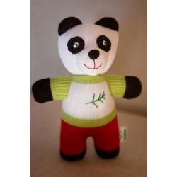 Вязаная игрушка Панда Фрея