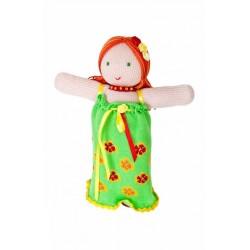 Вязаная игрушка Кукла Фея Цветов Фрея