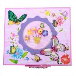 Шкатулка на кнопочке с канцелярским наполнением Ying Yuan 3DBF-8738-1