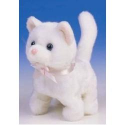 Интерактивная игрушка Котенок белый Jamina 9307-3