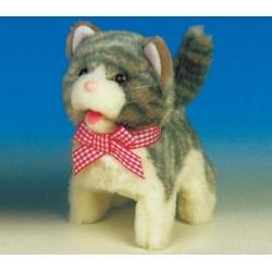 Интерактивная игрушка Котенок серый Jamina 9307-3G