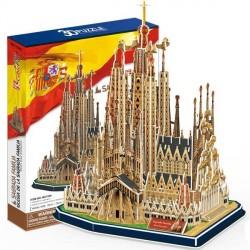 Трехмерный конструктор CubicFun Храм Святого Семейства MC153h