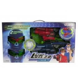 Игровой набор Лазерная атака 2 шлема и 2 бластера Silverlit 86840