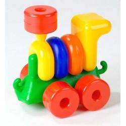 Конструктор Паровоз Toys Plast ИП.01.000