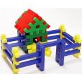 Коструктор-пазл Теремок 31 деталь Toys Plast ИП.09.002