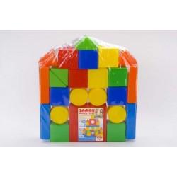 Конструктор Замок 26 дет Toys Plast ИП.07.002