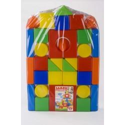 Конструктор Замок 36 деталей Toys Plast ИП.07.001