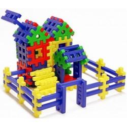 Конструктор-пазл «Кошкин дом» 67 деталей Toys Plast ИП.09.006