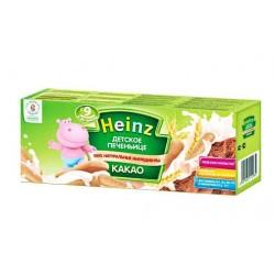 Печенье детское Heinz с какао (с 9 мес.) 160 гр.