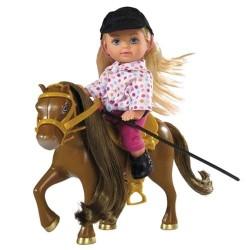 Кукольный набор Еви и пони Steffi & Evi 5737464