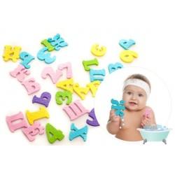 Набор для игры в ванной АБВ и цифры Kinderenok 091113