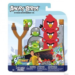 Набор ANGRY BIRDS - Рогатка с липкими птичками Tech4Kids 23304