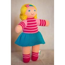 Вязаная игрушка кукла Даринка Фрея