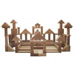 Конструктор деревянный Дом-1 (120 дет.) Наши Дети 18002