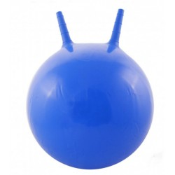 Детский мяч для фитнеса с рожками (фитбол) Profi 45 см MS 0380 синий