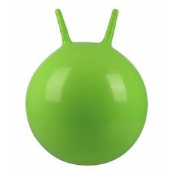 Детский мяч для фитнеса с рожками (фитбол) Profi 45 см MS 0380 салатовый
