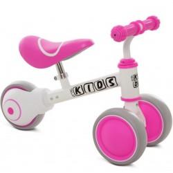 Беговел Profi Kids M 5461-5 бело-розовый