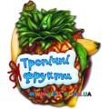 """Книга """"Відгадай-но: Тропічні фрукти"""" укр. Ранок М13960У"""
