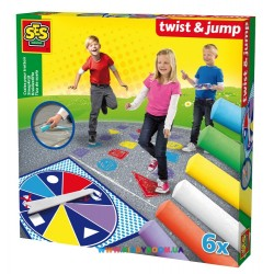 Набор цветных мелков Twist & Jump SES 02242S