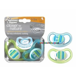 Пустышка Tommee Tippee Closer to nature Air 9-18 мес. за 1 шт.