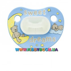 Пустышка bibi Sweet Dreams blue 0-6 мес.