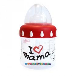 Бутылочка bibi I love mama PP 3 в 1 150 мл.