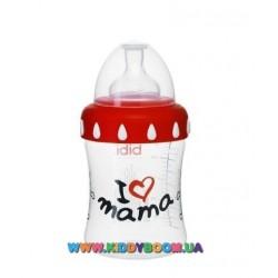 Бутылочка bibi I love mama PP 3 в 1 250 мл.