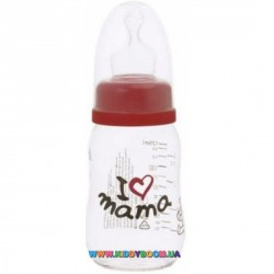 Бутылочка bibi I love mama PP 125 мл.