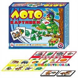 Игра Детское лото с рисунками Технок 0236