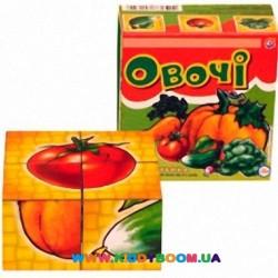 Кубики Овощи Технок 1349