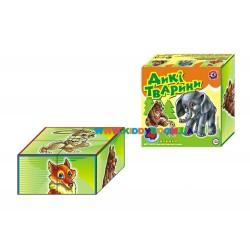 Кубики Дикие животные Технок 1820