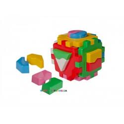 Игрушка куб Умный малыш Логика 1 Технок 2452