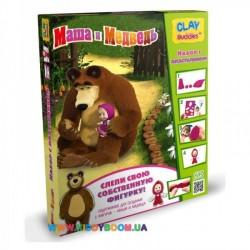 Набор для лепки CLAY Buddies Маша и медведь стартовый 306437