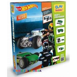 Набор для лепки CLAY Buddies Hot Wheels стартовый 307601