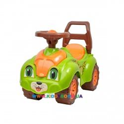 Автомобиль для прогулок Леопард салатовый Технок 3428