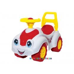 Автомобиль для прогулок белый Технок 3503