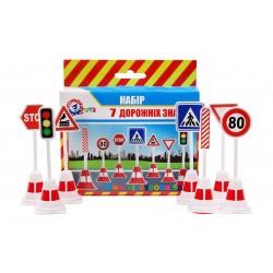 Набор дорожных знаков ТехноК 4357