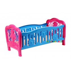 Кровать для куклы Технок 4517