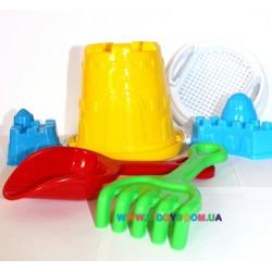 Песочный набор Крепость Toys Plast ИП.21.004