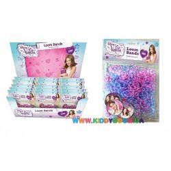 Стартовый набор для плетения браслетов Violetta Loom Bands 2395070
