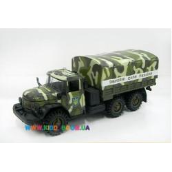 Автомодель ЗИЛ-131 Вооруженные Силы Украины Технопарк CT10-001/21